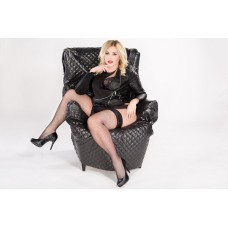 Size++ FishnetX - Hold-up Stockings - Small net
