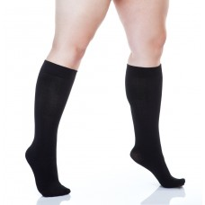 Size++ Knee highs - Bamboo - 300D