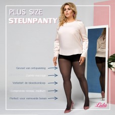 Size+ compression pantyhose - 30den