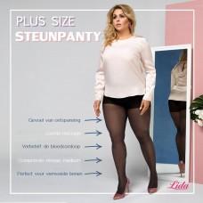 Size+ compression pantyhose - 30den