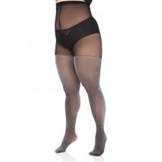 Size+ pantyhose - Brocade
