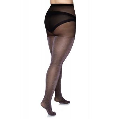 Size++ Pantyhose - Brocade