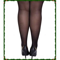 Size++ pantyhose - Kristallen - 30D