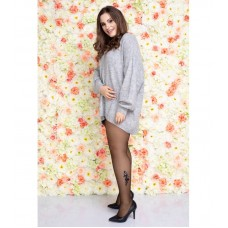 Size++ pantyhose - Flower - 20D
