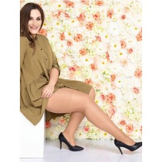 Size++ Pantyhose - 20D - With panel gusset